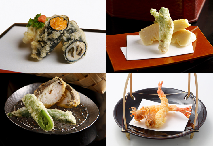 Okazaki, Kyoto, is a district blessed with an abundant supply of first-class ingredients.