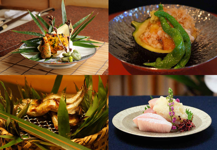 Taste the best of Kyoto's fresh seasonal produce.