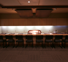 Yatsuhashi Counter Seats: up to 7/8 guests